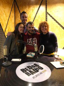 Da sinistra Arianna Sacco, Cesare Zanotto, Daniele Cassioli e Marilisa Milano