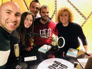 Da sinistra Emiliano Padalino, Arianna Sacco, Cesare Zanotto, Daniele Cassioli e Marilisa Milano